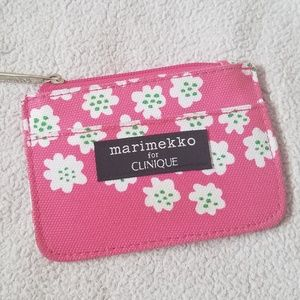 FREE W/ PURCHASE Small Floral Coin Purse Wallet